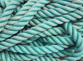 Blue rope texture Royalty Free Stock Images