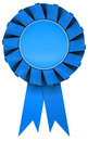 Blue rosette Stock Photography