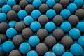 Blue Rubber Balls Fetch Royalty Free Stock Photo