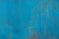 Blue rusty metal texture