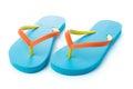 Blue sandal Royalty Free Stock Photo