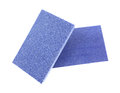 Blue sanding blocks Royalty Free Stock Photos