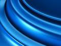 Blue Satin Silk Fabric Soft Abstract Background Royalty Free Stock Photo