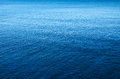 Blue sea background image of a calm and peaceful Royalty Free Stock Photo