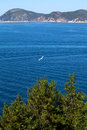 Blue Sea At Portoferraio, Elba Island Royalty Free Stock Images
