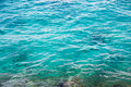 Blue sea water Royalty Free Stock Photography
