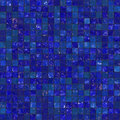 Blue Seamless Bathroom Tiles Royalty Free Stock Photo