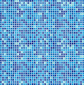 Blue seamless mosaic Royalty Free Stock Photography