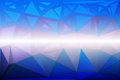 Blue shades pink random sizes low poly background