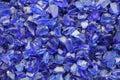 Blue shards Royalty Free Stock Photo