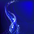 Blue shimmering background Royalty Free Stock Images