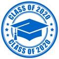 Blue sign class of 2020