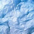 Blue silk paper Royalty Free Stock Photo
