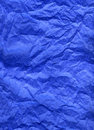 Blue silk paper Royalty Free Stock Photo