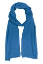 Blue silk scarf Royalty Free Stock Photo