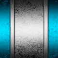 Blue and silver abstract background Royalty Free Stock Photo