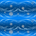 Blue and Silver Christmas Wrapping paper Royalty Free Stock Photo