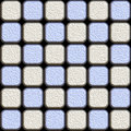 Blue silver tiles Stock Photo