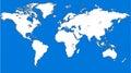 Blue similar world map. World map blank. World map vector World map template. World map object. World map eps. World map Royalty Free Stock Photo