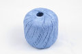 Blue skein on white background Stock Image