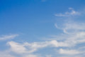 Blue skies and the cloud Royalty Free Stock Photography