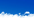Blue sky background Stock Photos