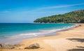 Blue sky and calm sea on Naithon Noi beach in Phuket Thailand Royalty Free Stock Photo