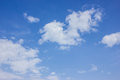Blue sky and cloud white Stock Image