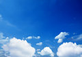 Blue sky a and clouds Royalty Free Stock Images