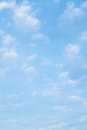 Blue Sky and Clouds Background Royalty Free Stock Photography