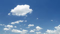 Blue sky and clouds in sunny day Royalty Free Stock Photo