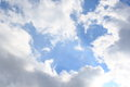 Blue sky and clouds various cloud Royalty Free Stock Photos