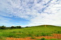 Blue Sky, Green Fields Royalty Free Stock Image