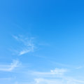 Blue sky high resolution photo of Stock Images