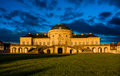 Blue Sky Panorama Exterior Solitude Schloss Castle Stuttgart Germany Royalty Free Stock Photo