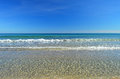 A Blue Sky And Sea Background Royalty Free Stock Photo