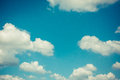Blue sky vintage background Royalty Free Stock Photo