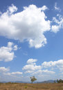 Blue sky weather nature clouds and clear Royalty Free Stock Photo