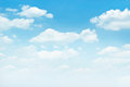 Blue sky with white clouds background Royalty Free Stock Photo