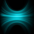 Blue smooth light lines template background. EPS 8 Stock Photos