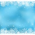 Blue snow mesh background the white on the winter and cristmas theme Royalty Free Stock Photography