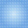 Blue snow pattern seamless with snowflakes vector illustration Royalty Free Stock Image