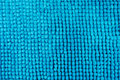 Blue soft fabric Royalty Free Stock Photo