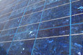 Blue solar panel Royalty Free Stock Photos