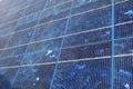 Blue solar panel Royalty Free Stock Photos