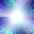 Blue Solar Vortex Stock Image