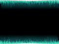 Blue sound wave on white background eps vector file Royalty Free Stock Image