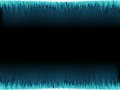 Blue sound wave on white eps background vector file Stock Image