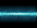 Blue sound wave on white eps background vector file Stock Images