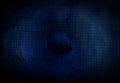 Blue speaker Royalty Free Stock Photo